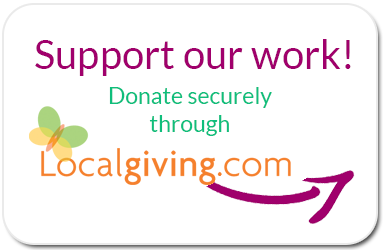 Donate securely via LocalGiving