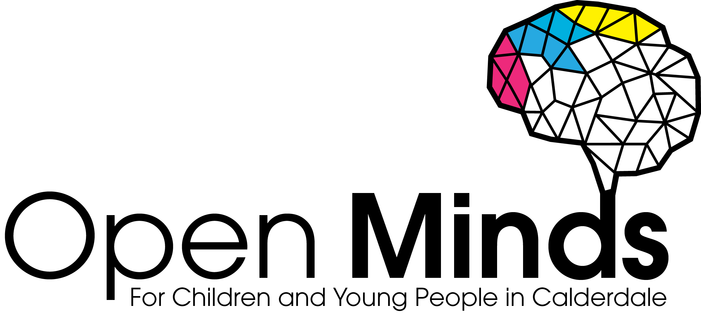 Image result for open minds calderdale logo